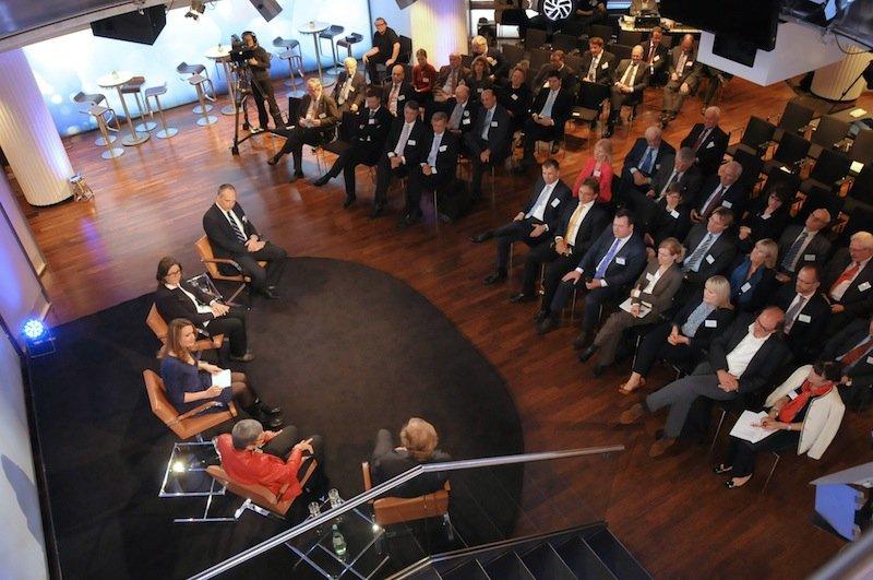 Peutinger-Collegium 2013 im BMW-Pavillon, München
